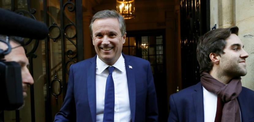 """Nicolas Dupont-Aignan """"soutient"""" Marine Le Pen avec """"un accord de gouvernement"""""""