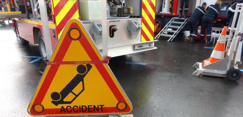 Orne : un homme grièvement blessé dans un accident de la route