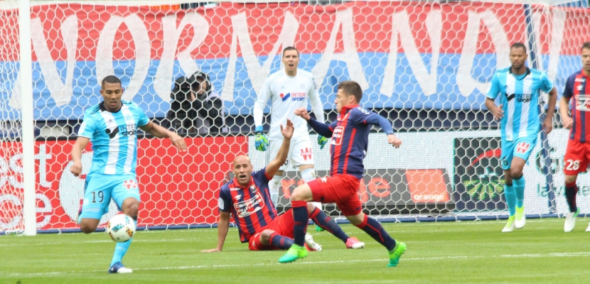 Football (Ligue 1) : Caen étrillé par Marseille (1-5) poursuit sa chute interminable vers la Ligue 2