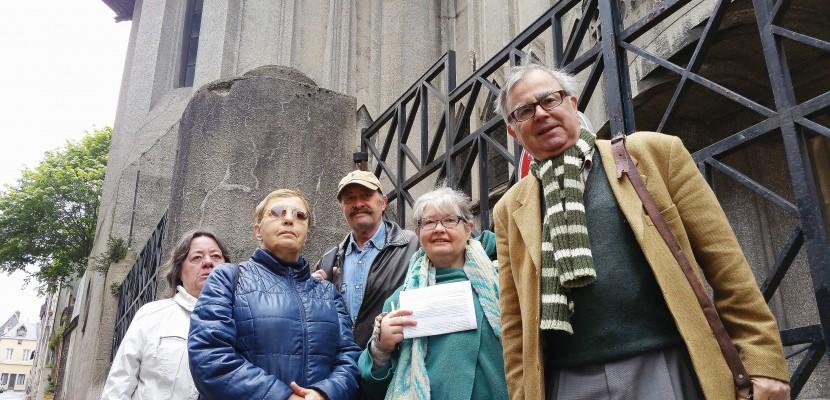 Un collectif se bat pour la survie de l'église Saint-Nicaise de Rouen