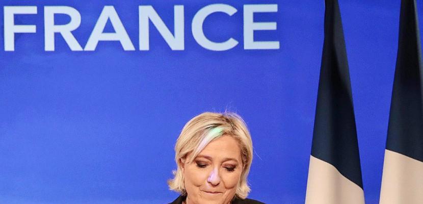 Sèchement battue, Le Pen compte s'appuyer sur un nombre de voix record