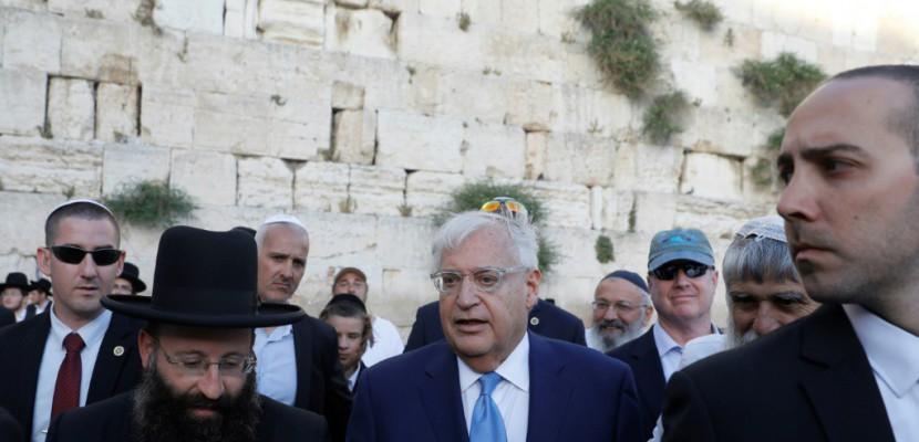 Le nouvel ambassadeur américain controversé arrive en Israël