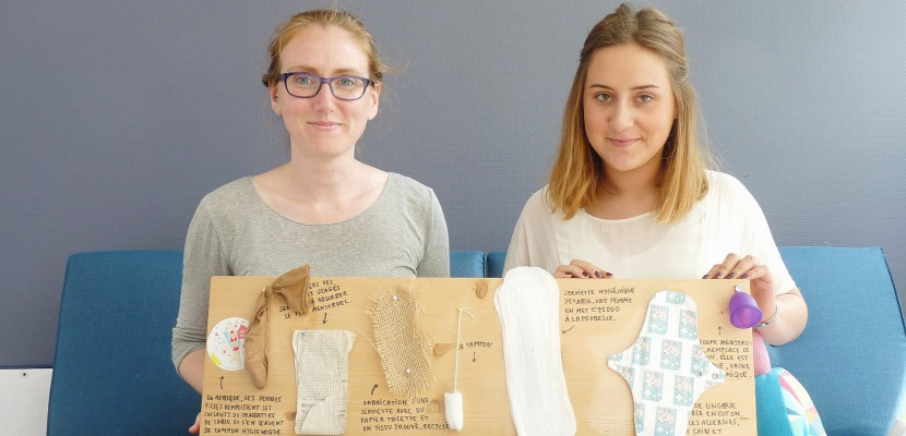 """A Caen, """"Dans ma culotte"""" s'engage en faveur des protections intimes aux femmes sans abris"""