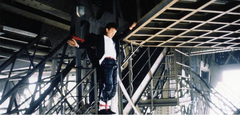 Il y a 30 ans AJ Hackett sautait à l'élastique depuis la Tour Eiffel
