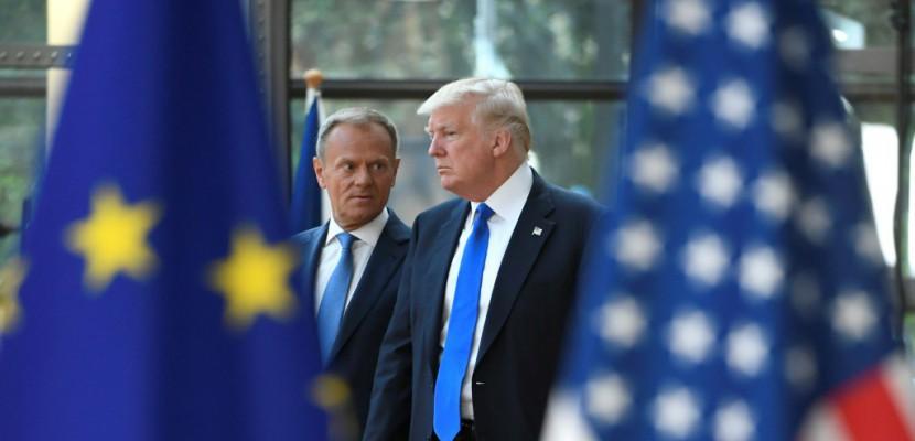 """L'UE et les Etats-Unis n'ont pas de """"position commune"""" sur la Russie, selon Tusk"""