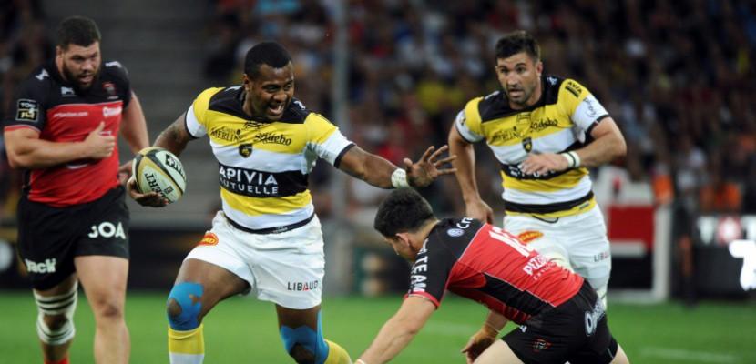 Top 14: La Rochelle mène devant Toulon à la mi-temps 9-6