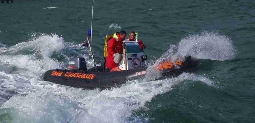 Calvados : isolées par la marée montante, 4 personnes secourues