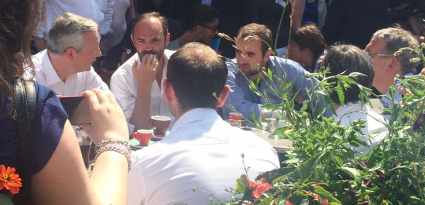 Le Premier ministre Edouard Philippe soutient Bruno Le Maire dans l'Eure