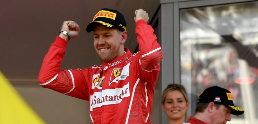 GP de Monaco: Vettel (Ferrari) remporte sa 3e victoire cette saison