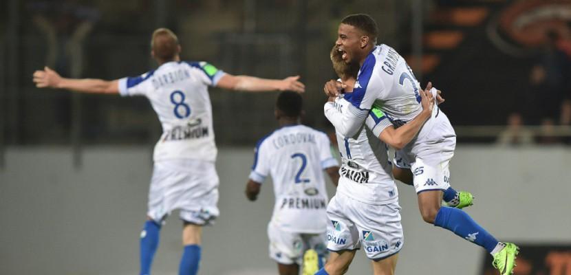 Barrage: Troyes retrouve la Ligue 1 et envoie Lorient en Ligue 2