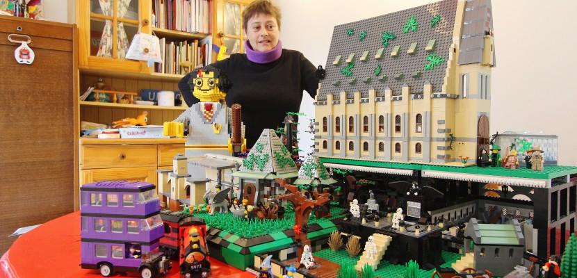 L'univers d'Harry Potter reconstitué en Lego par une passionnée de Normandie