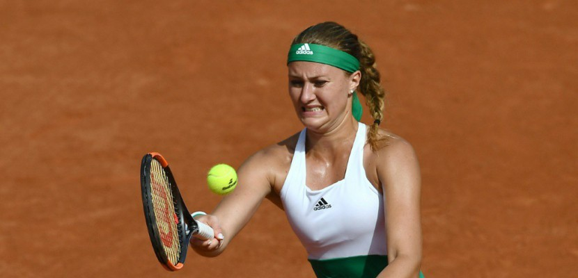 Roland-Garros: Mladenovic passe le 1er tour dans la douleur