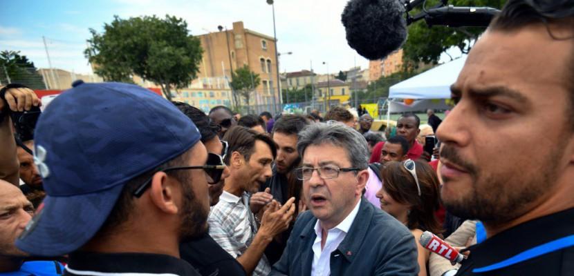 Jean-Luc Mélenchon (LFI) chahuté dans une cité à Marseille