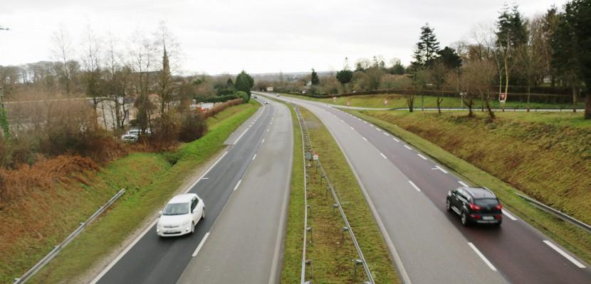 Circulation perturbée sur la RN13 entre Caen et Bayeux