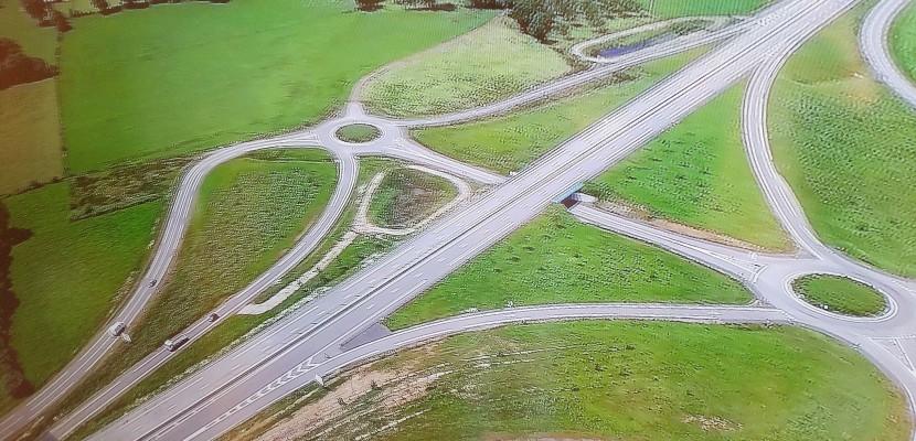 Orne : la Départementale 924 à 2x2 voies inaugurée