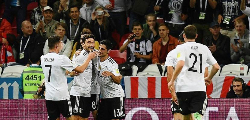 Coupe des Confédérations: Allemagne et Chili, dos à dos et tête à tête