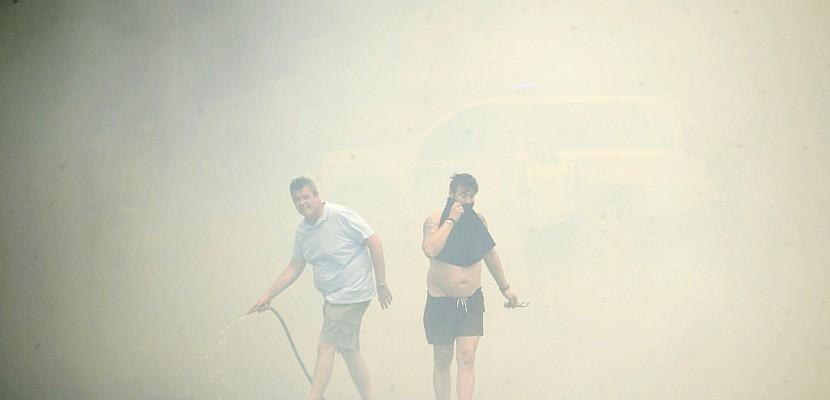 Incendie dans un parc naturel en Espagne: au moins 1.800 personnes évacuées