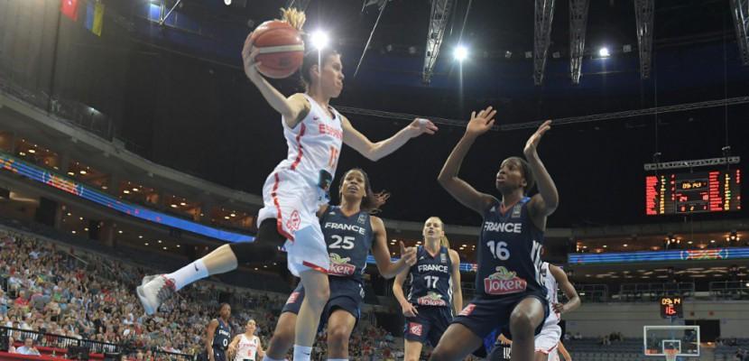 Basket: les Françaises largement battues en finale par l'Espagne