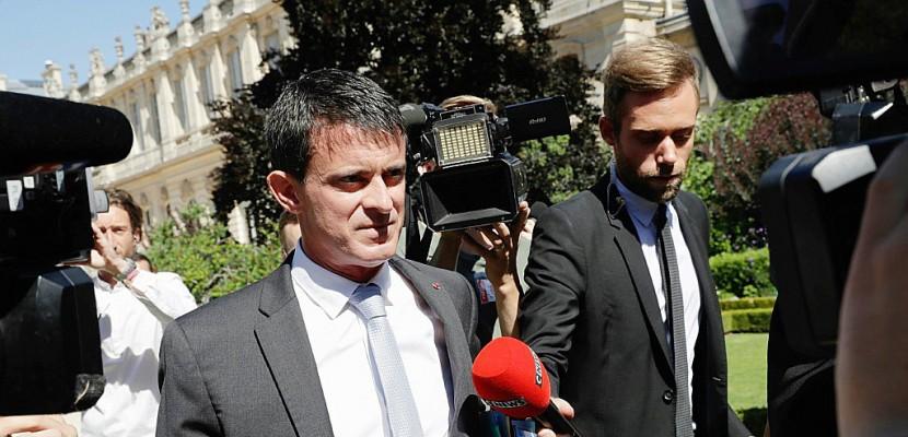 """Manuel Valls: """"je quitte le Parti socialiste"""""""