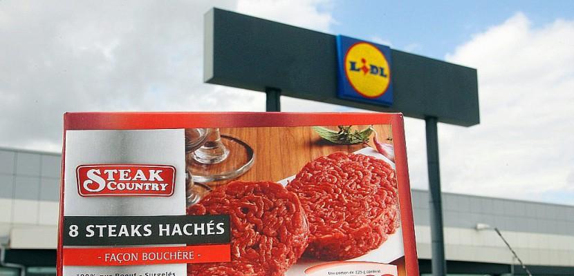 Steaks contaminés à la bactérie E.coli: trois ans de prison dont deux ferme