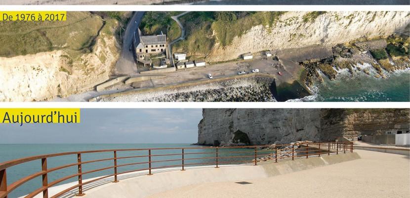 Une nouvelle plage entre Le Havre et Etretat [Vidéo]
