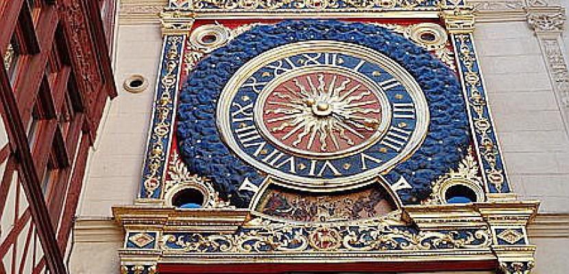 Le Gros horloge de Rouen