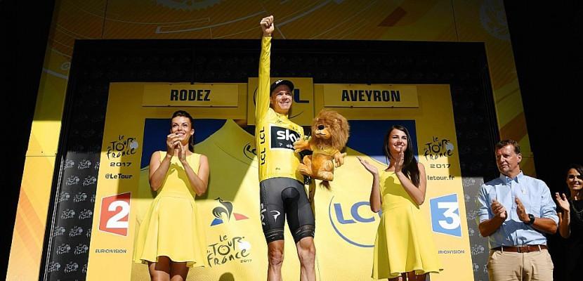 Tour de France: Froome reprend les commandes après la 14e étape