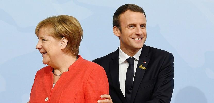 Macron fait de l'ombre à Merkel en Europe