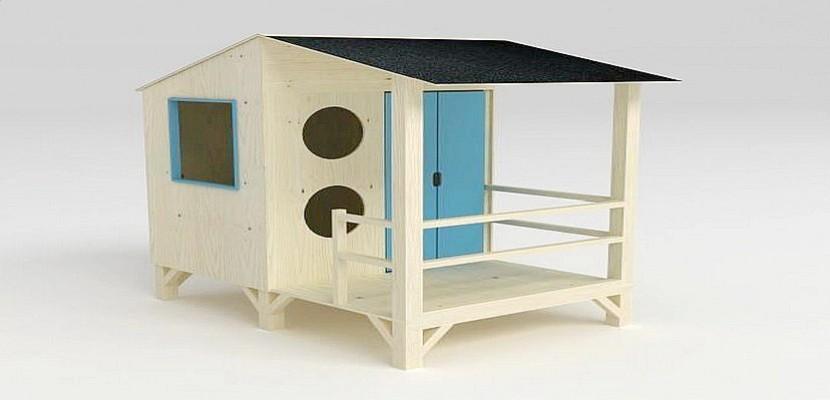 Gagnez votre cabane de plage en bois sur Tendance Ouest