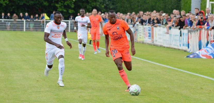 FOOTBALL (Amical) : Caen bat Lorient à Saint-Lô (2-1)