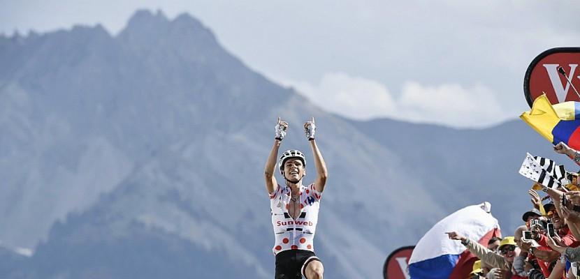 Tour de France: Barguil vainqueur à l'Izoard