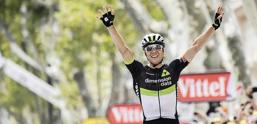 Tour de France: Boasson Hagen remporte la 19e étape