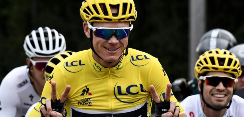 """Tour de France: Froome puissance 4, """"première"""" pour Groenewegen"""