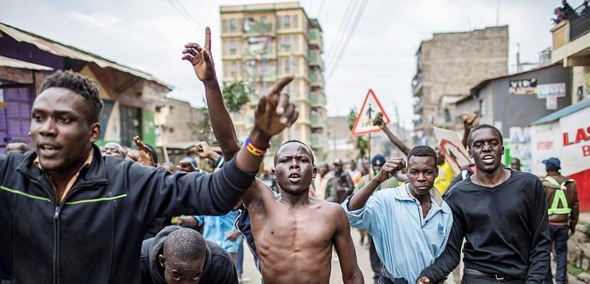 La tension monte au Kenya, où l'opposition crie à la fraude électorale