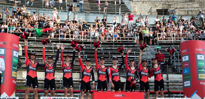 Tour d'Espagne: la victoire pour BMC et Dennis, Froome prend de précieuses secondes