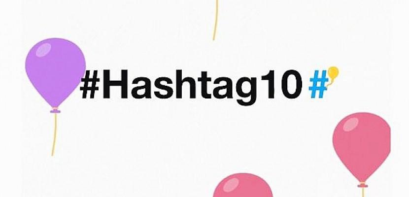 Sur Twitter, le hashtag fête ses dix ans