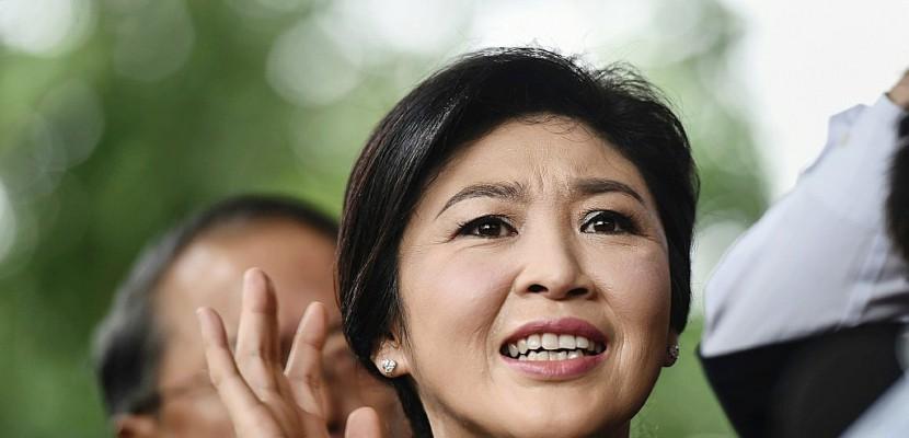 L'ex-Première ministre thaïlandaise en exil pour échapper à la prison