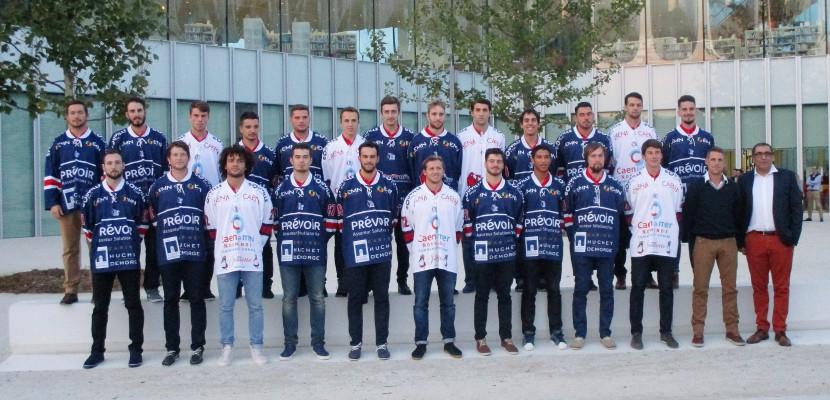 Le Hockey Club de Caen présente son équipe