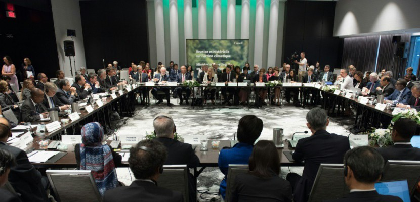 Climat: réunion sur l'avenir de l'accord de Paris à Montréal... sans les Américains
