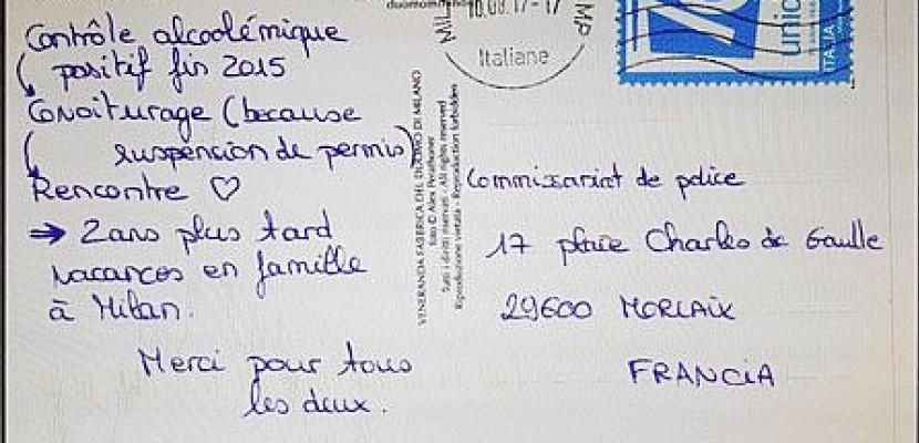 Bretagne : elle trouve l'amour grâce à son retrait de permis et remercie la police !