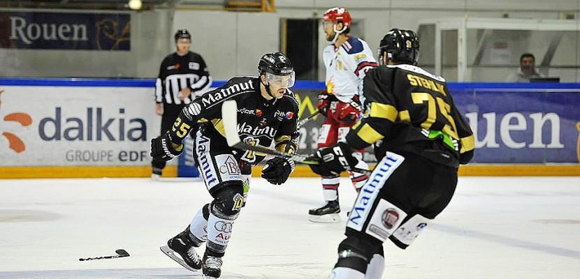 Hockey sur glace : première défaite des Dragons de Rouen face à Bordeaux