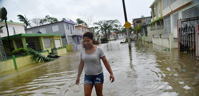 """""""Tempête du siècle"""", Maria dévaste Porto Rico"""