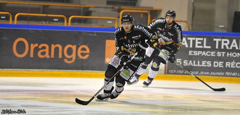 Hockey-sur-glace: les Dragons de Rouen ne tombent pas dans le piège à Strasbourg