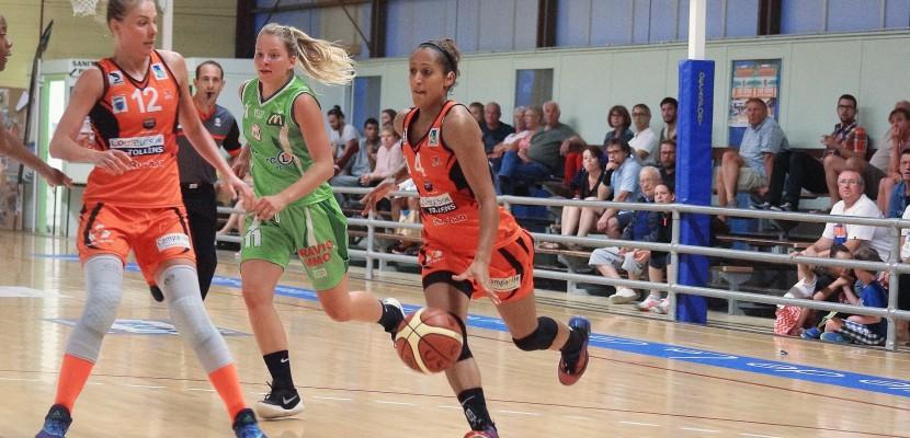 Basket, N1F: saison terminée pour Katrin Chiemeka, meneuse de La Glacerie