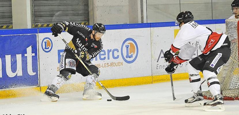 Hockey sur glace : les Dragons de Rouen doivent rebondir à Bordeaux