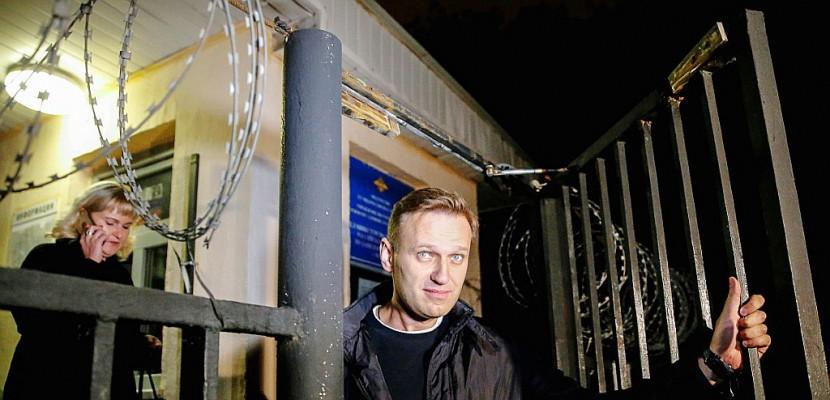 Russie: l'opposant Navalny doit être remis en liberté après sa détention