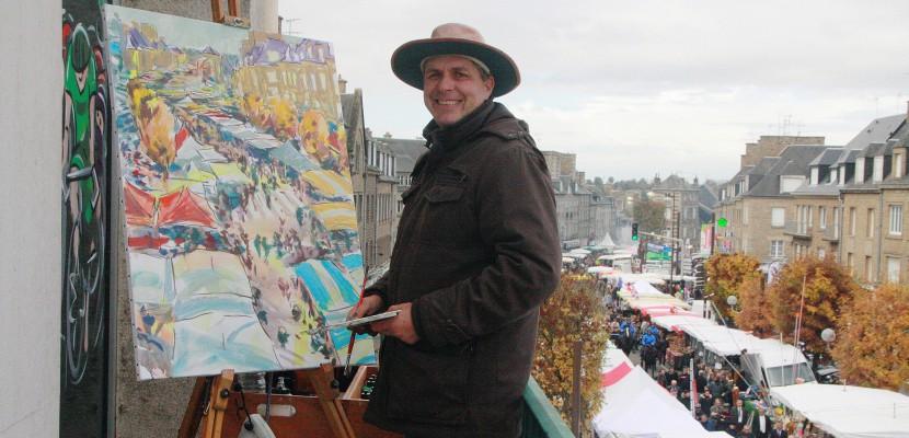 La Normandie en 80 toiles : Allan Stephens a fini son tour, découvrez le résultat !