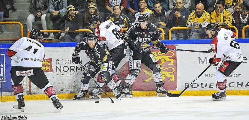 Hockey sur glace : les Dragons de Rouen qualifiés pour les 8ème de finale