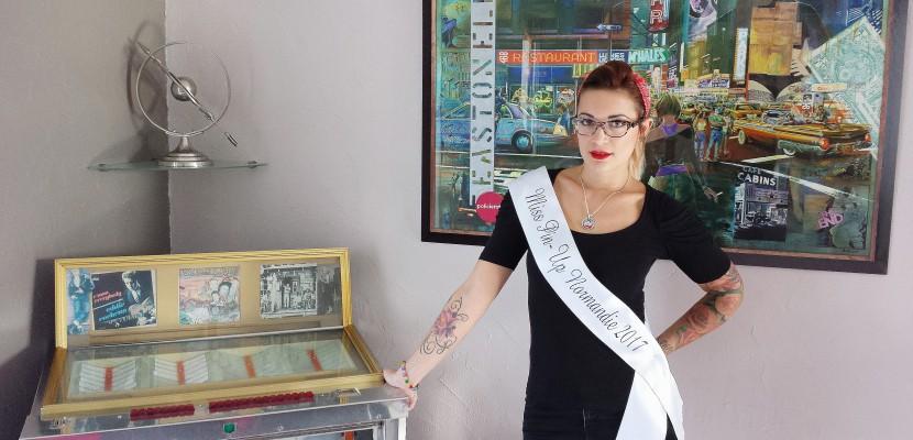 Une havraise à l'élection de Miss Pin-Up France