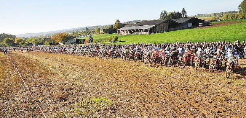 Moto : 250 pilotes à la finale du championnat de Normandie d'Enduro